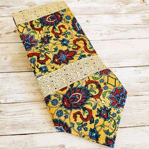 Rush Limbaugh VTG 1996 Silk Tie Bright Paisley